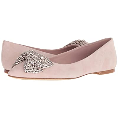Tory Burch Esme Flat (Sea Shell Pink/Sea Shell Pink) Women