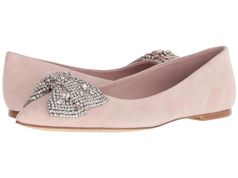 Tory Burch Esme Flat (Sea Shell Pink/Sea Shell Pink) Women