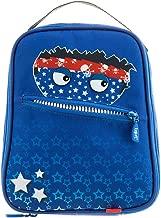 ZIPIT Talking Monstar Lunch Bag for Children, Blue