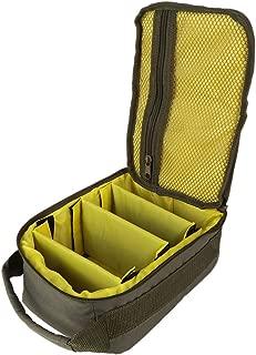 Leezo - Carrete de Pesca, 4 Capas, 600D, Tela Oxford, Doble Cremallera, para Exteriores, contenedor para Cebo de Línea anzuelos