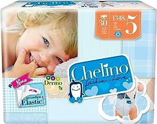 Chelino Fashion & Love Junior - Pañal infantíl, talla 5, 1 pack con 30 pañales