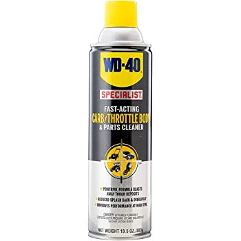 WD-40 Specialist Carb/Throttle Body & Parts Cleaner, 13.5 OZ