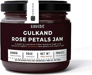 Organic Rose Petals Jam | Organic Gulkand (450 gms | 15.87 oz)
