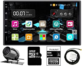 Panlelo LS09YZ32 in Dash 2 DIN 7 inch Full HD Touch Screen Head Unit Android GPS Navigation Car Stereo Quad Core Support AV Out AM/FM/RDS Radio WiFi Backup Camera