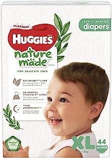 Huggies Platinum Naturemade Tape Diapers XL 44s