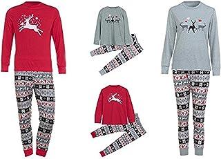 455ca0d4b Conjunto de Pijamas Familiares de Navidad,LILICAT Ropa Familiar a Juego para  la familia del