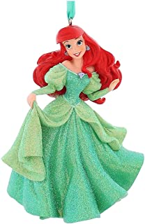 Disneyland Paris Princess Ariel Glitter Figurine