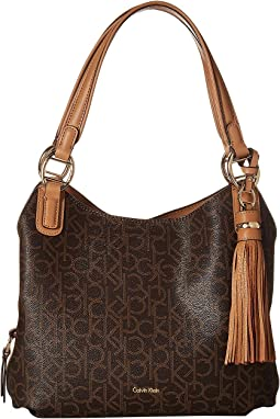 Holly Monogram Hobo