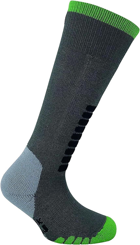Ski Supreme Jr Ski Socks Dark Grey SM(4.5+Big Kid)