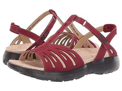 JBU Melon Sandal (Red) Women