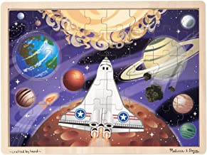 Melissa & Doug Space Voyage Wooden Jigsaw Puzzle (48 Pieces, Great Gift for Girls and Boys - Best for 4, 5 and 6 Year Olds)