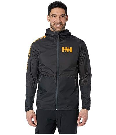 Helly Hansen Active Windbreaker Jacket (Ebony) Men
