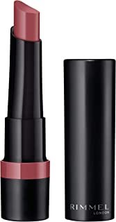 Rimmel London Lasting Finish Matte Lipstick, 220 Mauve - 2.3g