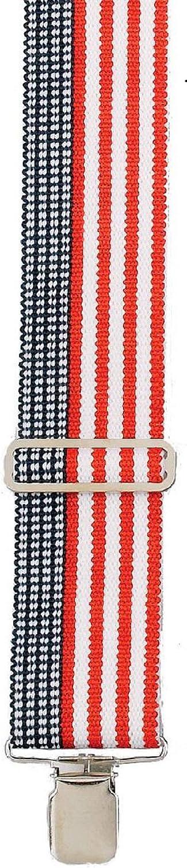 Heavy Duty USA Stars and Bars Adjustable Suspenders