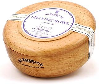 D R Harris Lavender Shaving Soap in Beech Wood Bowl (100g)