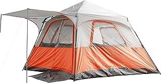 چادر کابین برای 6 نفر ، راه اندازی فوری چادر کمپینگ برای 6-8 نفر w. بارانی مقاوم در برابر آب ، چادر بزرگ برای فضای باز ، پیک نیک ، کمپینگ ، راه اندازی فوری 60 ثانیه - 10'x10'x7 '