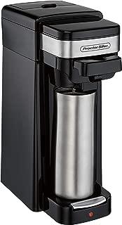 Hamilton Beach 49969 Single-Serve Coffee Maker, Use with Grounds and Pod Packs, Fits a Travel Mug