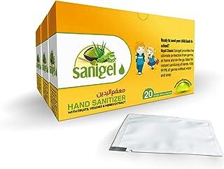 Royal Sanigel Back to School Hand Sanitizer Sachets 2+1 Box Free, 20 Sachets In 1 Box, رويال ، أكياس معقم اليدين العودة إل...