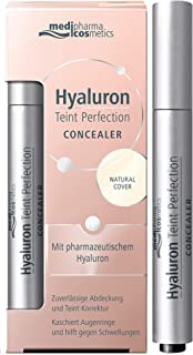 MediPharma Cosmetics Concealer for Dark Circles - Infused with Pharmaceutical Hyaluron - Paraben Free Makeup Concealer for Blemishes and Puffiness - Suitable for All Skin Types