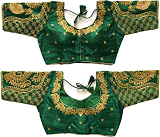 Jhumka Aari Work Design Blouse