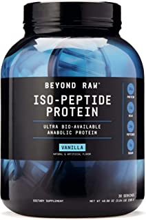 Beyond Raw Iso-Peptide Protein, Vanilla, 3 lbs