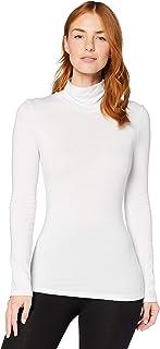 Marca Amazon - Iris & Lilly Top térmico de cuello alto Mujer