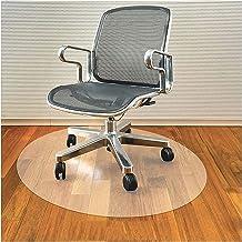 Bureaustoelmat voor hardhouten vloer, plastic mat voor bureaustoel Glijdt gemakkelijk op harde vloeren, doorzichtige compu...