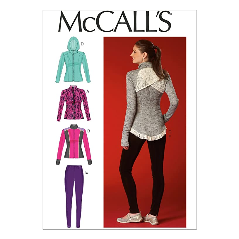 McCall's Patterns M7026 Misses' Jackets and Leggings, E5 (14-16-18-20-22)