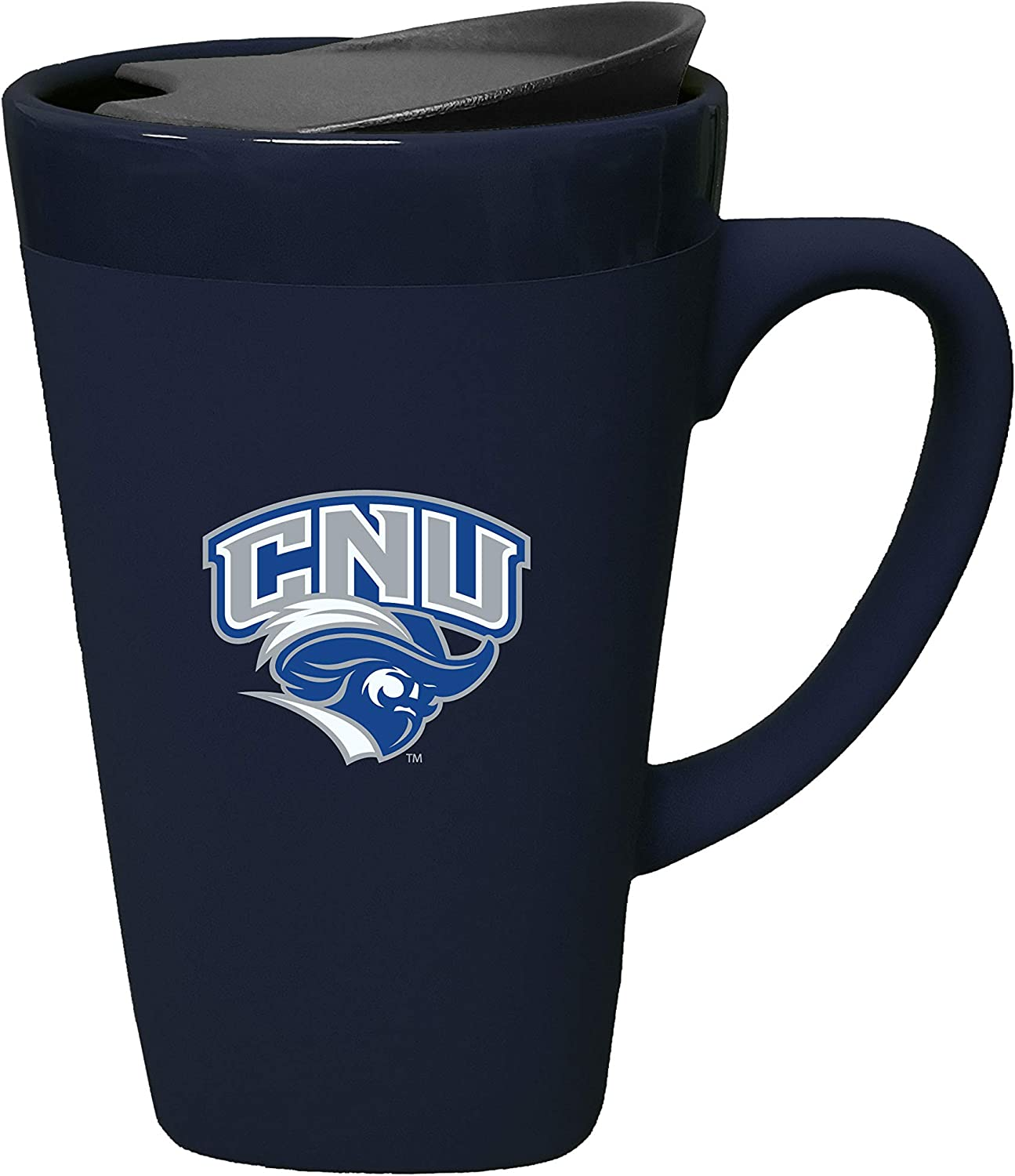 2021new shipping free shipping Christopher Newport Ceramic Outstanding Mug with Blue Lid Swivel Design-1 -