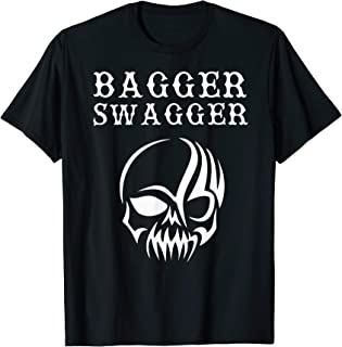 Bagger Swagger Motorcycle Chopper Bagger T-Shirt