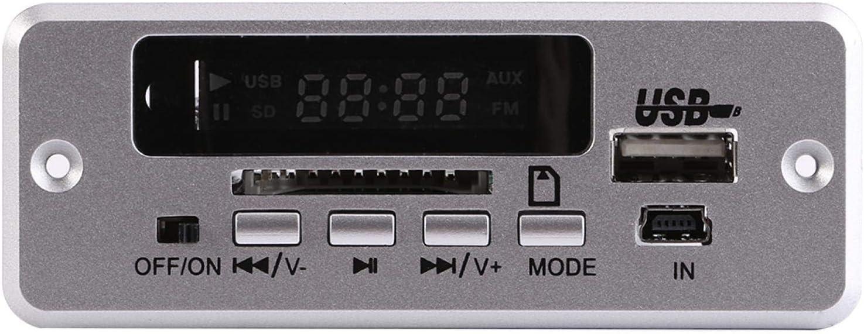 Car Max 64% OFF MP3 Decoder Board Remot All items free shipping Silver Decoding Plug-in