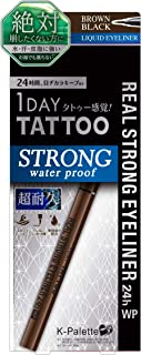 K-Palette Real Strong Eyeliner 24h WP Brown Black