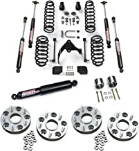 Teraflex 1251000 1513001 2610000 1055000 Lift Kit 2.5 Inch with 9550 VSS Shocks and 9550 VSS Steering Stabilizer and Exhaust Spacer Kit and 1.25 Inch Wheel Offset Adapter Kit for Jeep Wrangler JKU
