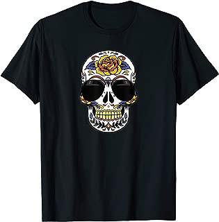 Sugar Skull Sunglasses Day of the Dead T-Shirt