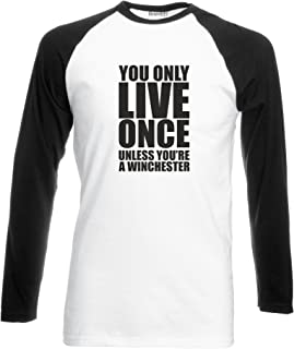 Unless You're A Winchester, L/S Baseball Tee