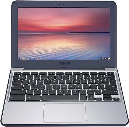 ASUS Chromebook C202SA-YS02 11.6-Inch, Intel Celeron, 4GB RAM, 16GB eMMC (Dark Blue) [並行輸入品]
