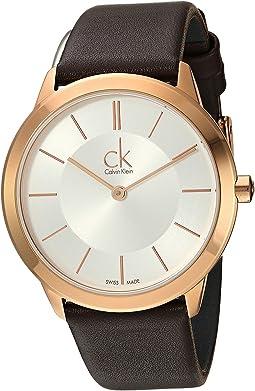 Calvin Klein - Minimal Watch - K3M226G6