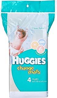 Huggies Change Mats, 4 Pack