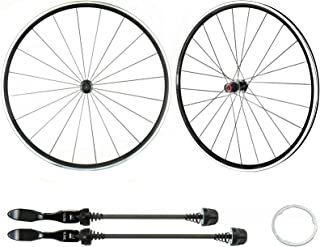 Alexrims 700c Road Bike Wheelset for Sram Compatible with Shimano 11 Speed