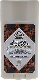 Nubian Heritage/Sundial Creations African Black Soap With Aloe & Vitamin E 24 Hour Deodorant