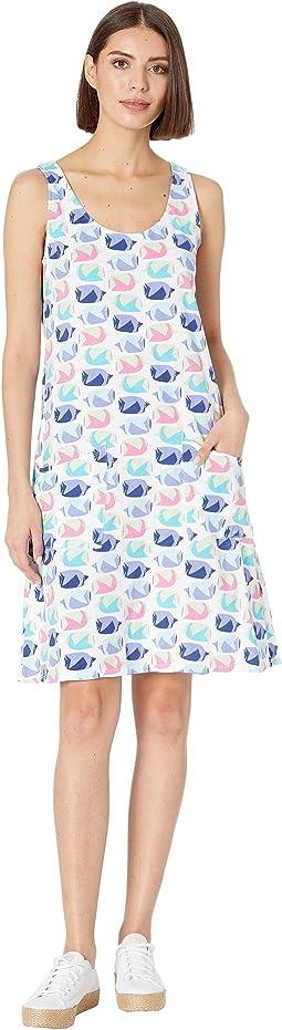 Fish School Drape Dress