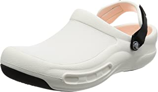 Crocs Bistro Pro Clog, Unisex Adults' Clogs, White (White / Black), 7 AU