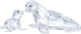 Swarovski Crystal Sea Lion Mother with Baby Figurine 5275796
