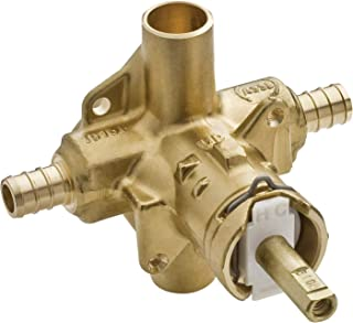 Moen 2580 Posi-Temp Brass Pressure Balancing Shower Valve, 1/2-Inch Crimp Ring PEX Connection