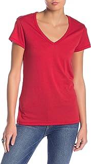 Alternative Red Women's US Size Small S Keepsake V-Neck T-Shirt