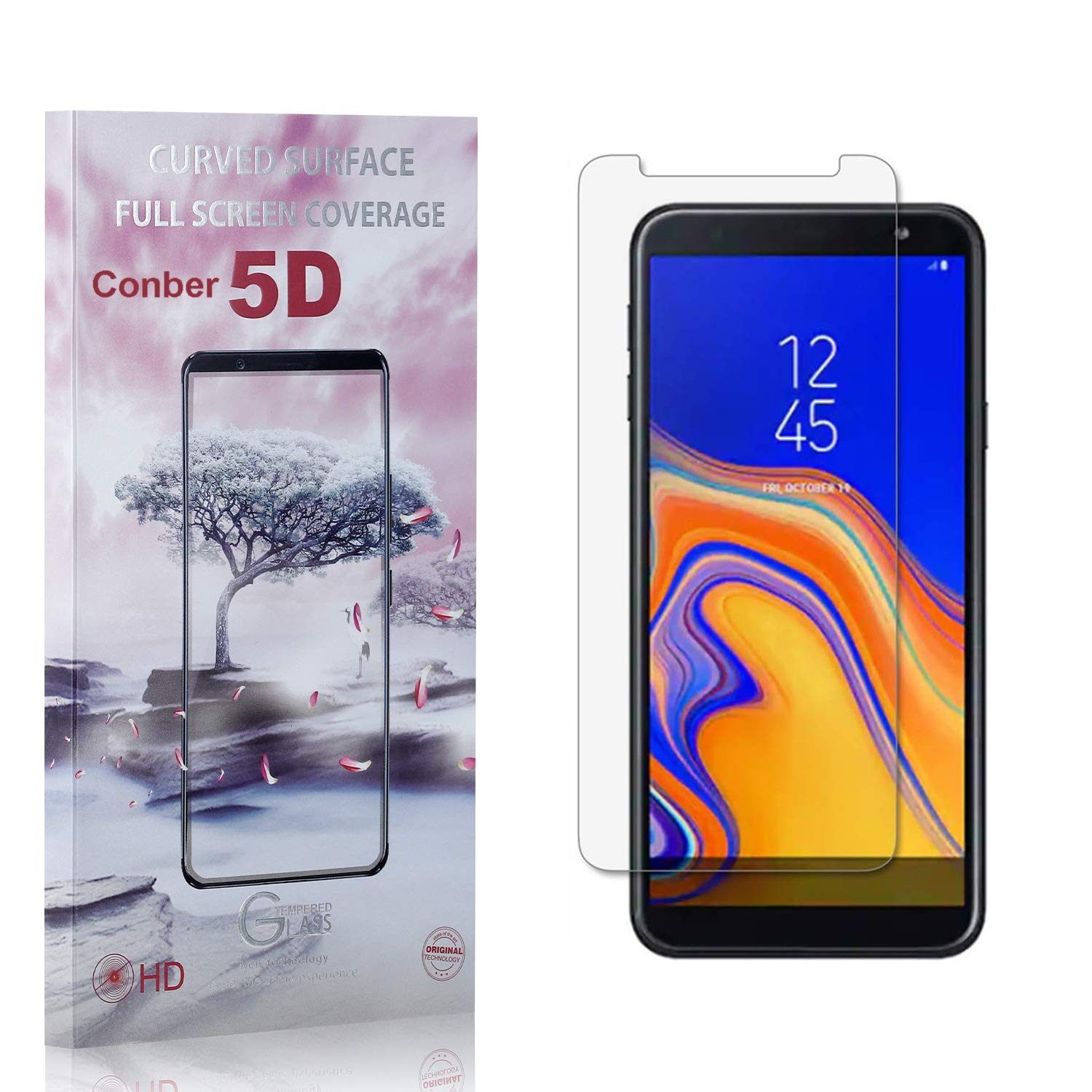 Conber 1 Pack Screen Protector for Over item handling ☆ J6 Under blast sales Samsung Galaxy An Plus