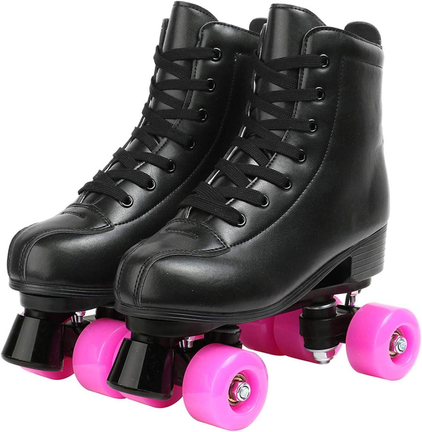 Women Men Cheap mail order shopping 5 Choice Arlington Mall Pu Microfiber Shoes Skates Sli Skating Roller