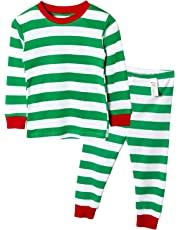 Unifriend 9分袖 9分丈 長袖 ベビ キッズ 男児・女児 綿100% ルームウェア パジャマ ねまき 上下セット