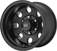 AMERICAN RACING BAJA SATIN BLACK BAJA 15x8 6x139.70 SATIN BLACK (-19 mm) WHEELS