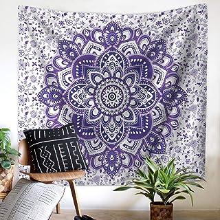 JSFQ Mandala Tapestry Elephant Print Mandala Bohemian Home Decor (Color : C, Size : 150X130)